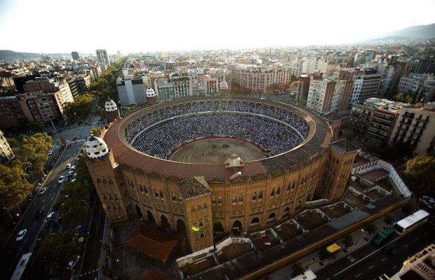 arène mosquée barcelone espagne