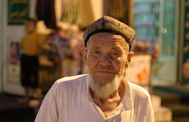 musulman barbu chine